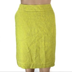 Merona Yellow skirt size 8 (#25)